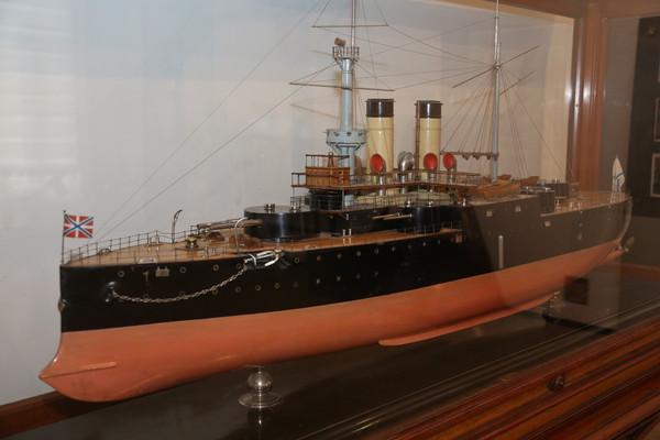 "Special Interest Tours Naval St Petersburg ""Rostislav"" battleship"