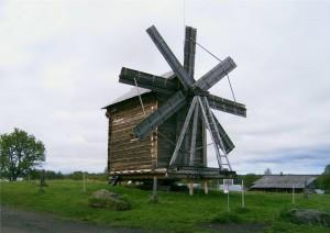 Kizhi - windmill