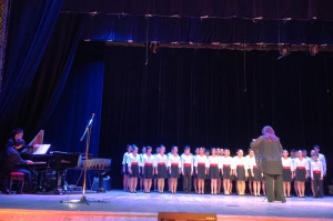 YIP'S CHILDREN'S CHOIR CONCERT IN MOSCOW