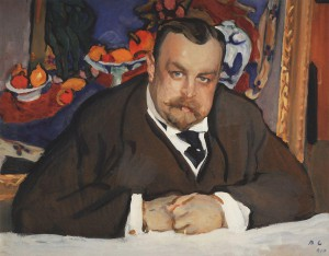 Portrait of Ivan Morozov by Serov