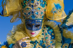 Venice carnival photo exhibition