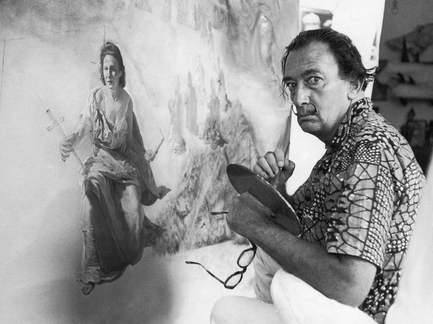 Salvador Dali. Superrealist and classic