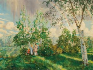Konstantin Somov: paintings and graphic works