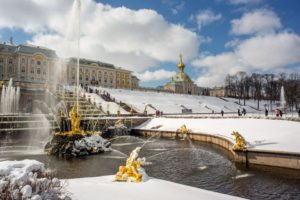 2017 Season for Peterhof Fountains