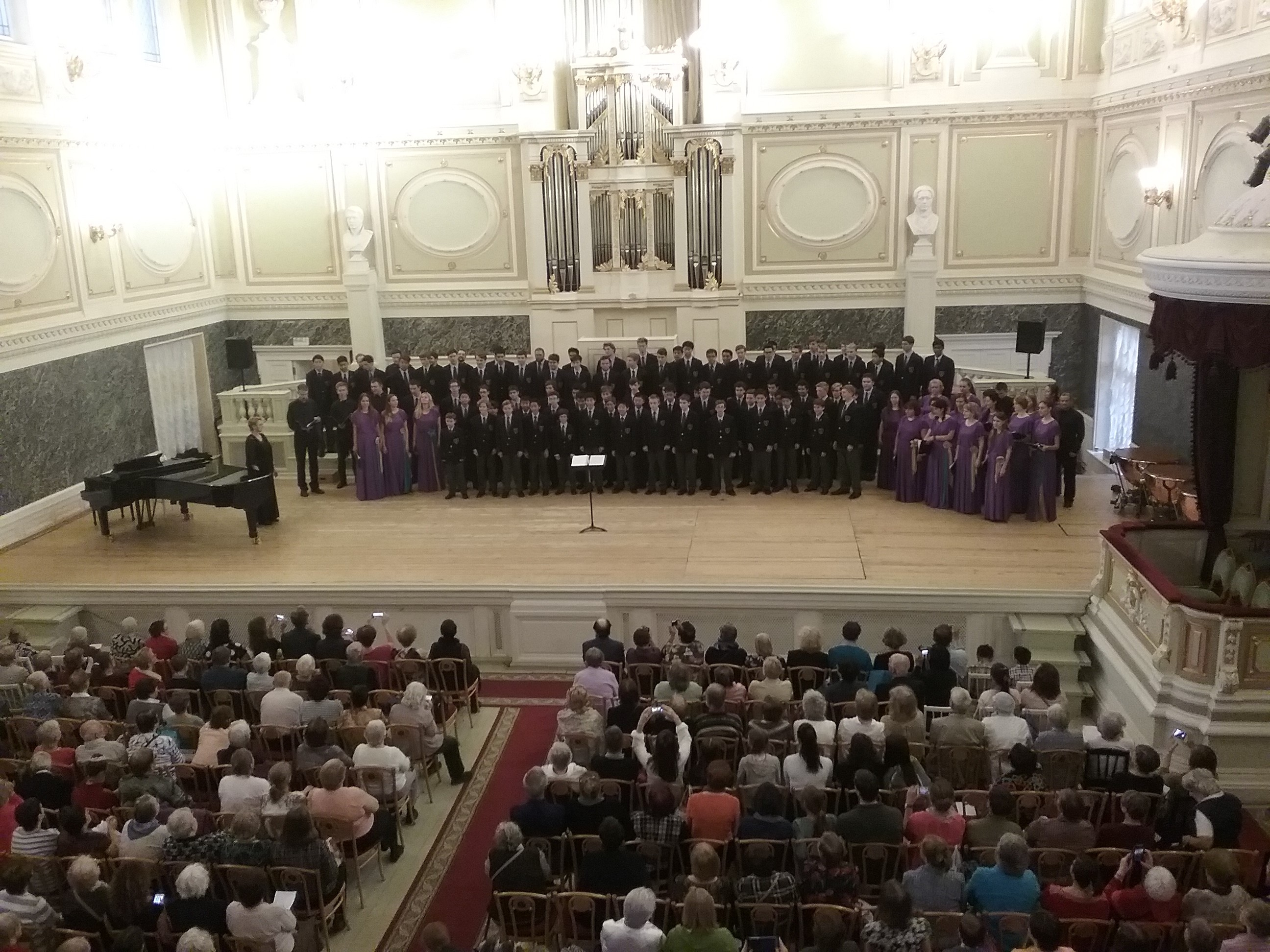 Ragazzi Boys Chorus concert in Capella