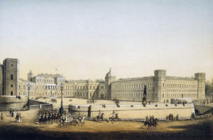 Gatchina palace, museum of the year