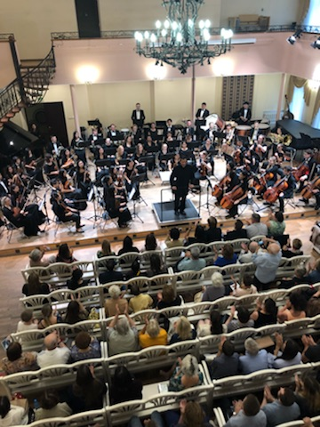 ORANGE COUNTY SYMPHONY ORCHESTRA SUCCESSFUL PERFORMANCE IN VLADIMIR CENTRE FOR CLASSICAL MUSIC