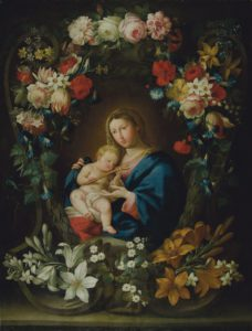MADONNA IN FLOWERS