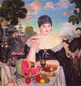 KUSTODIEV EXHIBITION IN ST.PETERSBURG