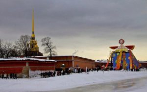 SHROVETIDE FESTIVAL IN PETER AND PAUL FORTRESS